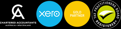 xero certified tax accountants badges